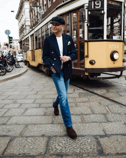 How to wear loafers with jeans 3