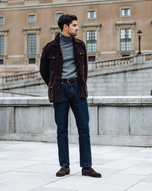 How to wear loafers with jeans 1