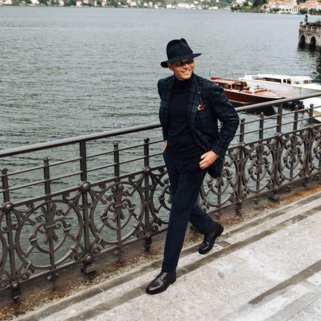 Luca Rubinacci wears Morjas Loafer Grain