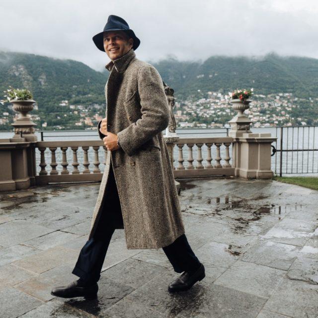 Luca Rubinacci wears Morjas The Penny Loafers