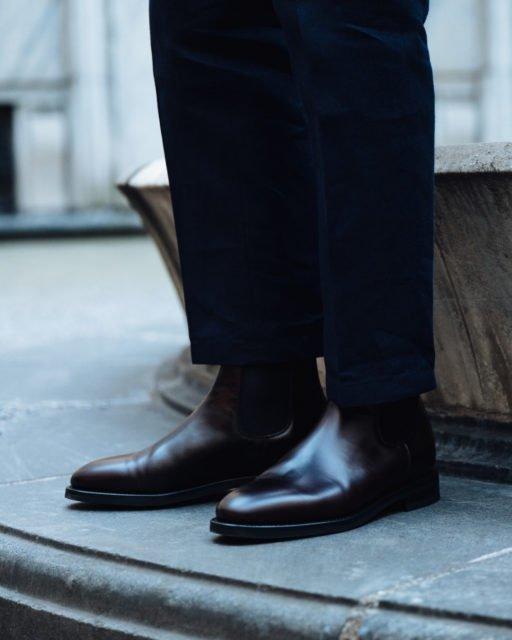 Chelsea boot brown calf