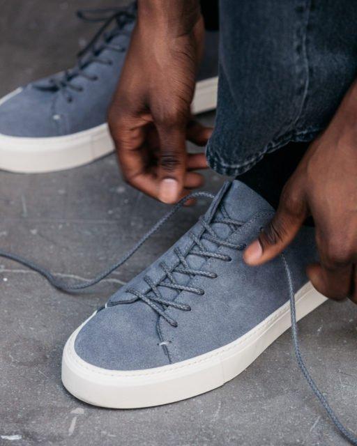 Grey suede Sneakers