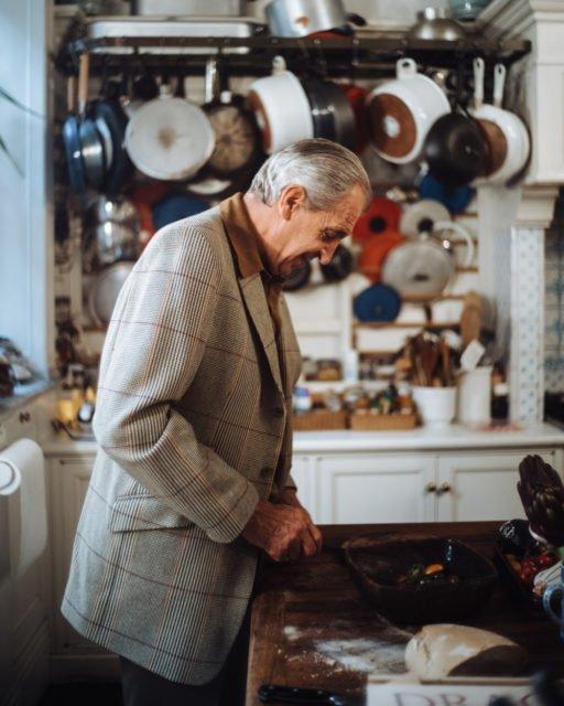 Goldberger in the kitchen